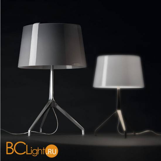Настольная лампа Foscarini Lumiere XXL Chrome Black/Grey 191001C 24