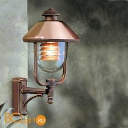 Уличный настенный светильник Garden Light Vecchio Rame vecchio rame 94030/CU/C/R RB