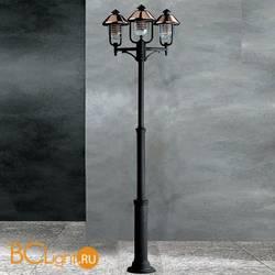 Садово-парковый фонарь Garden Light vecchio rame 94039/3L/CU NE