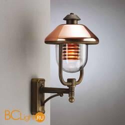Настенный уличный светильник Garden Light Vecchio Rame 94030/CU/C RB