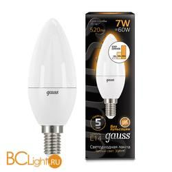 Лампа Gauss LED Свеча E14 7W 520lm 3000К 103101107-S