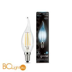 Лампа Gauss 104801205 LED Filament Candle tailed E14 5W 4100K
