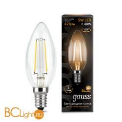 Лампа Gauss 103801105 LED Filament Candle E14 5W 2700К