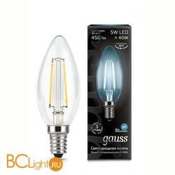 Лампа Gauss 103801205 LED Filament Candle E14 5W 4100К