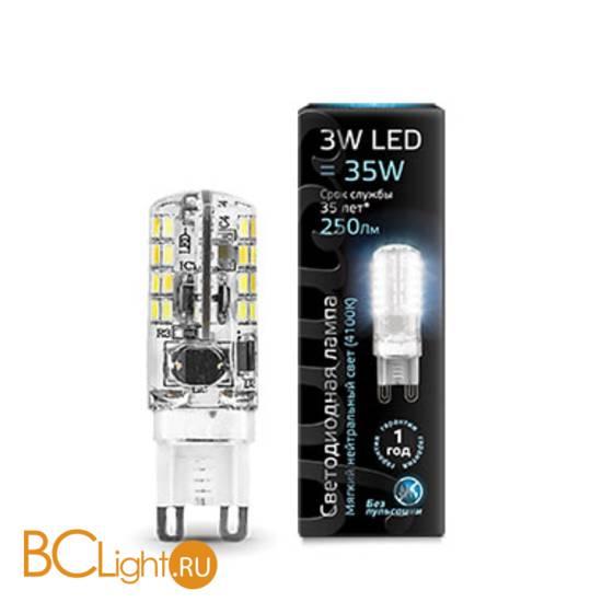Лампа Gauss LED G9 AC150-265V 3W 240lm 4100K 107709203