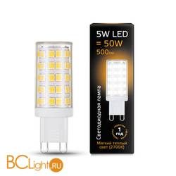 Лампа Gauss LED G9 AC185-265V 5W 500lm 2700K 107309105