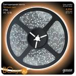 Лента LED Gauss 4.8W 12V DC 2700K 312000105