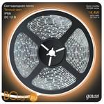 Лента LED Gauss 14.4W 12V DC 2700K IP66 311000114