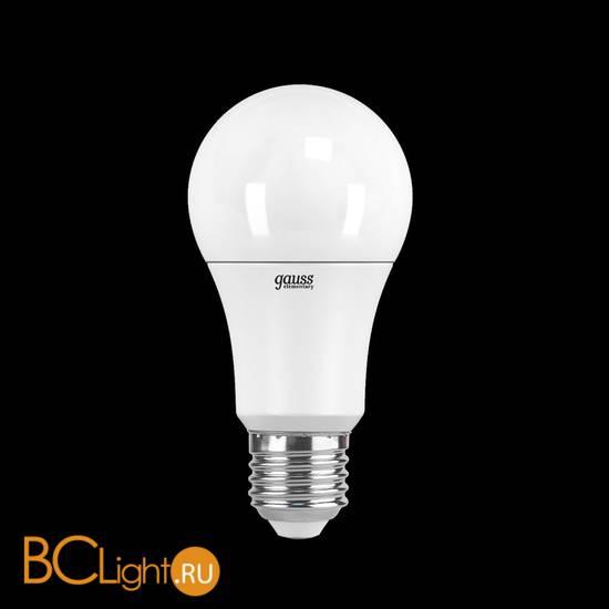 Лампа Gauss LED Elementary A60 15W E27 1480lm 6500K 23235