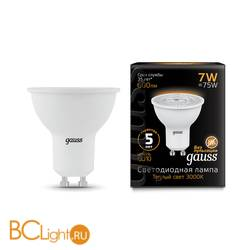 Лампа Gauss LED MR16 GU10 7W 600lm 3000K 101506107