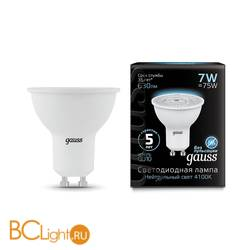 Лампа Gauss LED MR16 GU10 7W 630lm 4100K 101506207