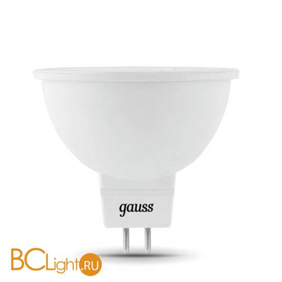 Лампа Gauss LED Elementary MR16 GU5.3 5.5W 450lm 4100К 13526