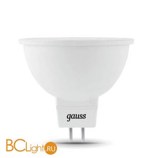 Лампа Gauss LED Elementary MR16 GU5.3 7W 550lm 4100K 13527