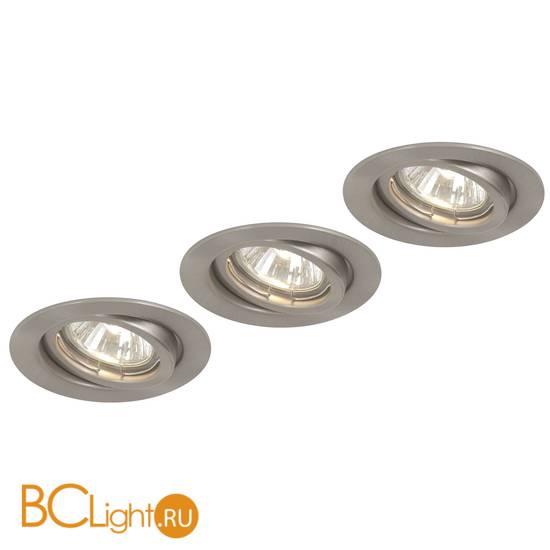 Встраиваемый спот (точечный светильник) Globo Down lights 12110-3L