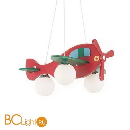 Люстра Ideal Lux Avion-2 Sp3 (Rosso/Verde) 136318