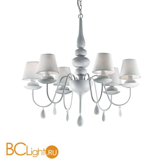 Люстра Ideal Lux Blanche SP6 035581