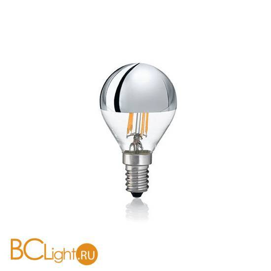 Лампа Ideal Lux E14 4W 220V 260lm 3000K 101262