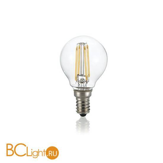 Лампа Ideal Lux E14 4W 220V 430lm 3000K 101200