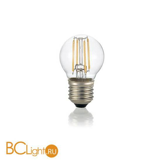 Лампа Ideal Lux E27 4W 220V 430lm 3000K 101279