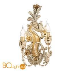 Бра Ideal Lux Carmen AP2 Argento-Oro 093703