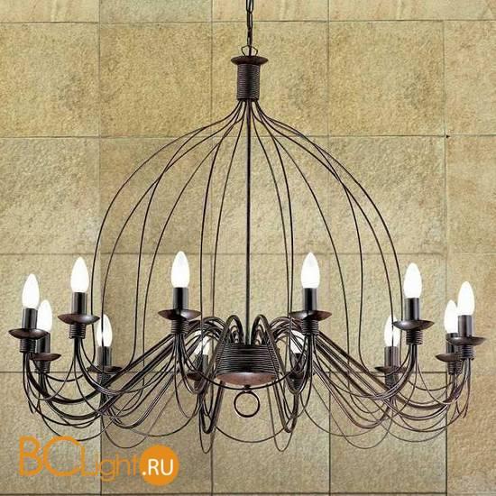 Люстра Ideal Lux Corte SP12 RUGGINE 097671