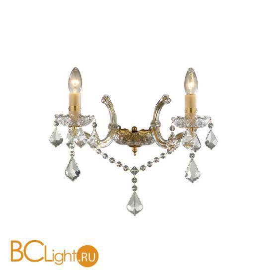 Бра Ideal Lux FLORIAN AP2 ORO 035659
