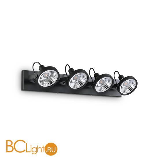 Потолочный светильник Ideal Lux GLIM PL4 NERO