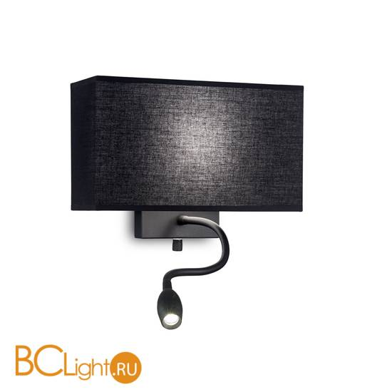 Бра Ideal Lux HOTEL AP2 ALL BLACK