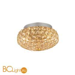 Настенно-потолочный светильник Ideal Lux KING PL3 ORO 075402