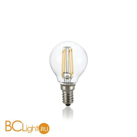 Лампа Ideal Lux E14 4W 220V 450lm 4000K 153926