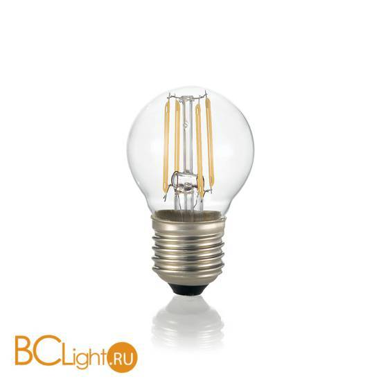 Лампа Ideal Lux E27 4W 220V 450lm 4000K 153957