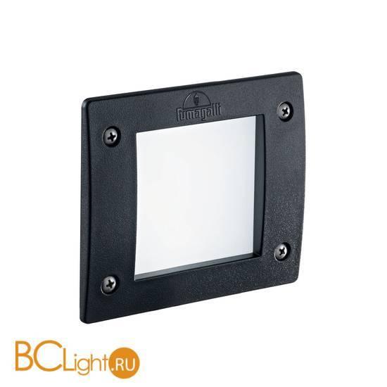 Встраиваемый спот (точечный светильник) Ideal Lux Leti FL1 Square Nero 096582