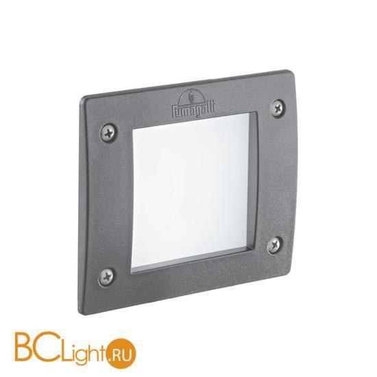 Встраиваемый спот (точечный светильник) Ideal Lux Leti FL1 Square Grigio 096599