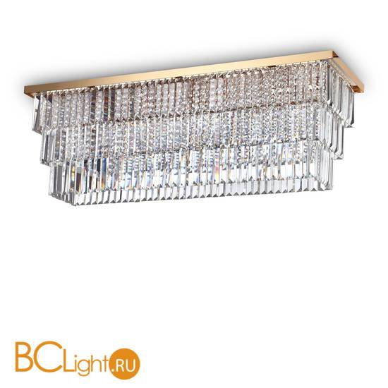 Потолочный светильник Ideal Lux MARTINEZ PL8 ORO