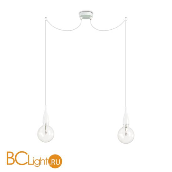 Подвесной светильник Ideal Lux MINIMAL SP2 BIANCO OPACO