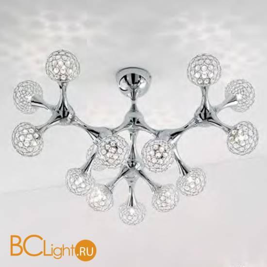 Потолочная люстра Ideal Lux Nodi PL15 Crystal 093512