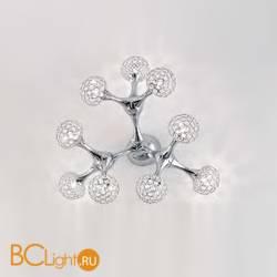 Потолочная люстра Ideal Lux Nodi PL9 Crystal 093505