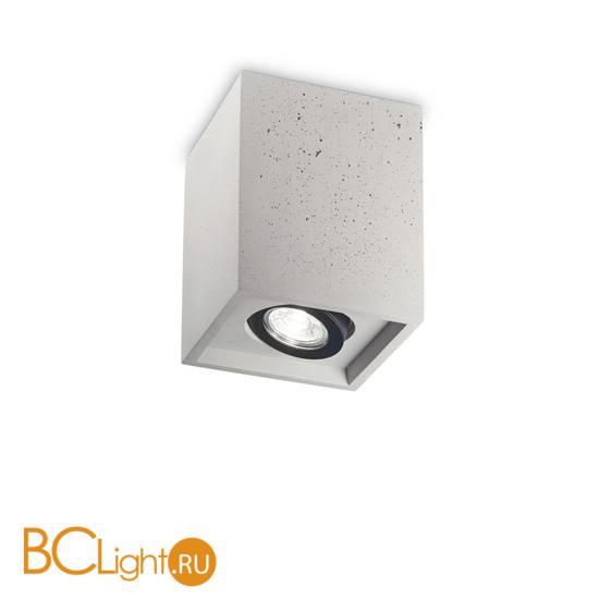 Спот (точечный светильник) Ideal Lux Oak PL1 Square Cemento 150475
