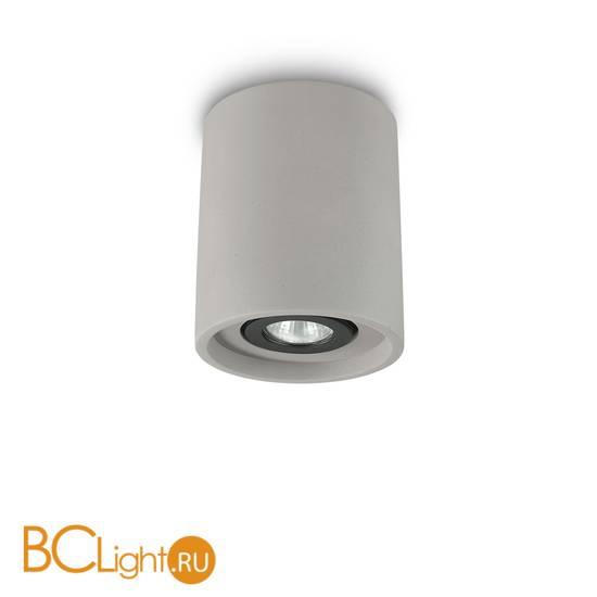 Потолочный светильник Ideal Lux OAK PL1 ROUND CEMENTO