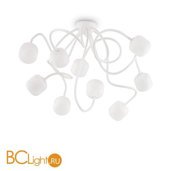 Потолочная люстра Ideal Lux Octopus PL9 Bianco 174990