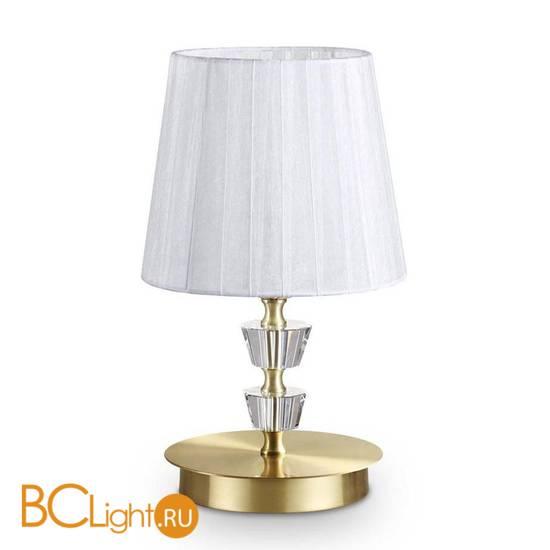 Настольная лампа Ideal Lux PEGASO TL1 SMALL OTTONE SATINATO