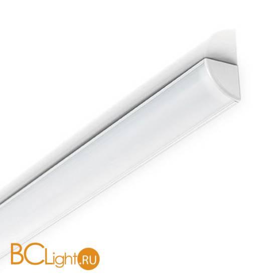 Профиль угловой Ideal Lux Profilo Strip Led Angolare Alluminio 1м алюминий 126531
