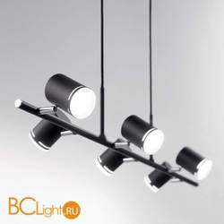Подвесной светильник Ideal Lux Shots SP6 Nero 179612