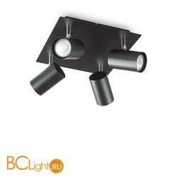 Потолочный светильник Ideal Lux SPOT PL4 NERO