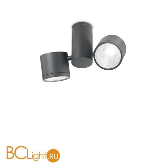Спот (точечный светильник) Ideal Lux Sunglasses PL2 ANTRACITE 161846