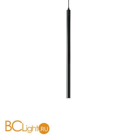 Подвесной светильник Ideal Lux Ultrathin SP1 SMALL NERO 156699