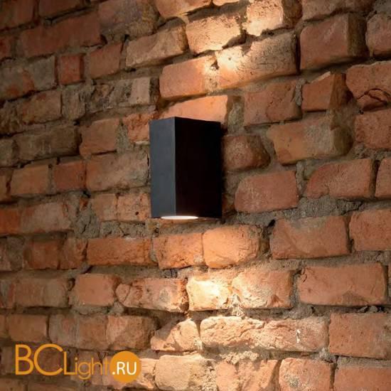 Уличный настенный светильник Ideal Lux Up AP2 Nero 115344