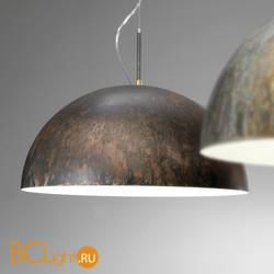 Подвесной светильник IDL Amalfi 478/90/E brown corten white