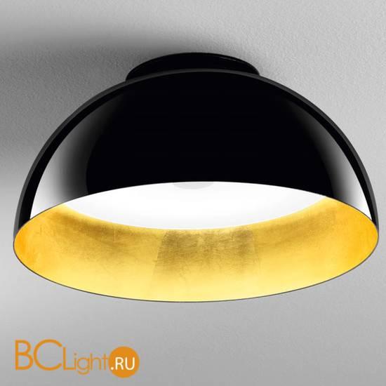 Потолочный светильник IDL Amalfi 478/50PF/C black gold