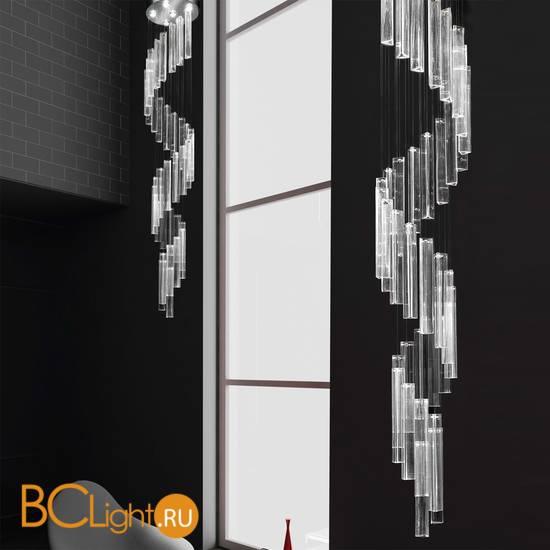 Потолочный светильник IDL Armonia 9047/6 Spyral Transparent